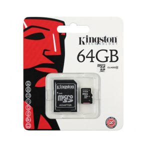 Kingston Digital 64 GB microSD Class 10 UHS-1 Memory-1-nadnet
