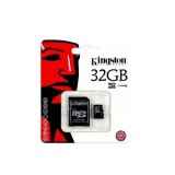 Memoria Kingston 32 Gb Micro Sd + Adaptador Clase1-1-nadnet