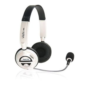 Micro casque NGS MSX6 Pro White-1-nadnet